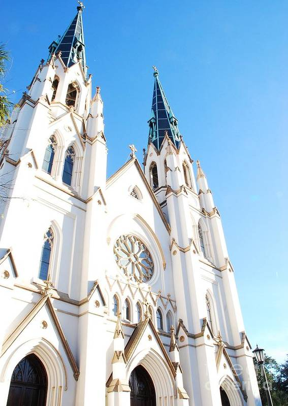 Cathedral Art Print featuring the photograph Cathedral Of St. John The Baptist by Ashley O