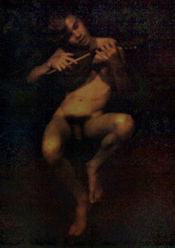 Male Art Print featuring the painting David.06 by Terrell Gates