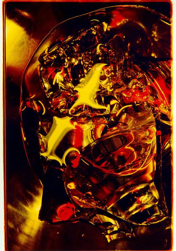 Abstract Art Print featuring the photograph Glassman by David Rivas