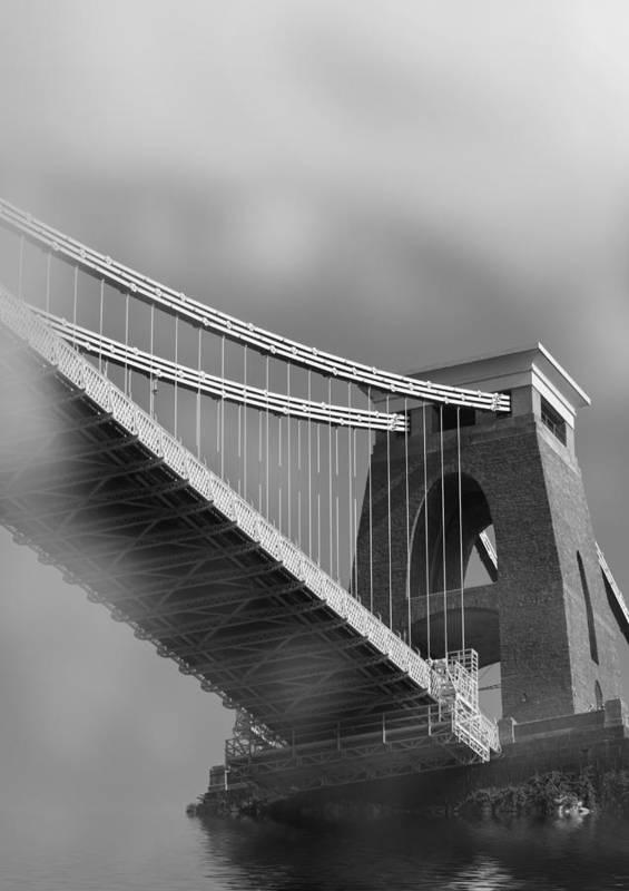 Clifton Suspension Bridge Art Print featuring the photograph Global Warming by Brian Roscorla