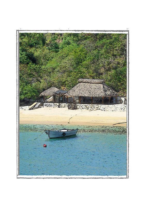 Seascape Art Print featuring the photograph Gone Coastal by Robert Boyette