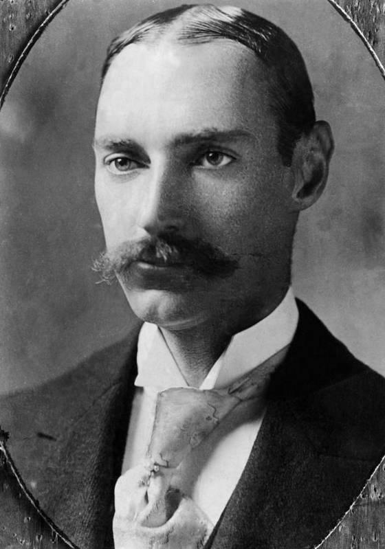 1910s Art Print featuring the photograph John Jacob Astor Iv 1864-1912 by Everett
