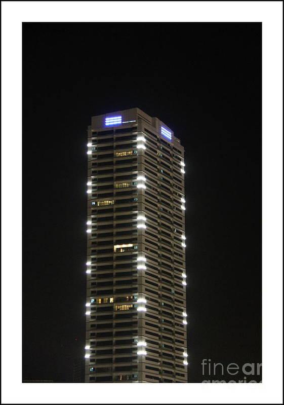 Skyscraper Art Print featuring the photograph Modern Skyscraper by Hussein Kefel
