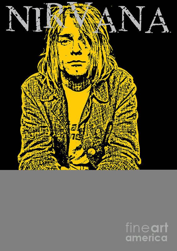 Nirvana Art Print featuring the digital art Nirvana No.07 by Caio Caldas