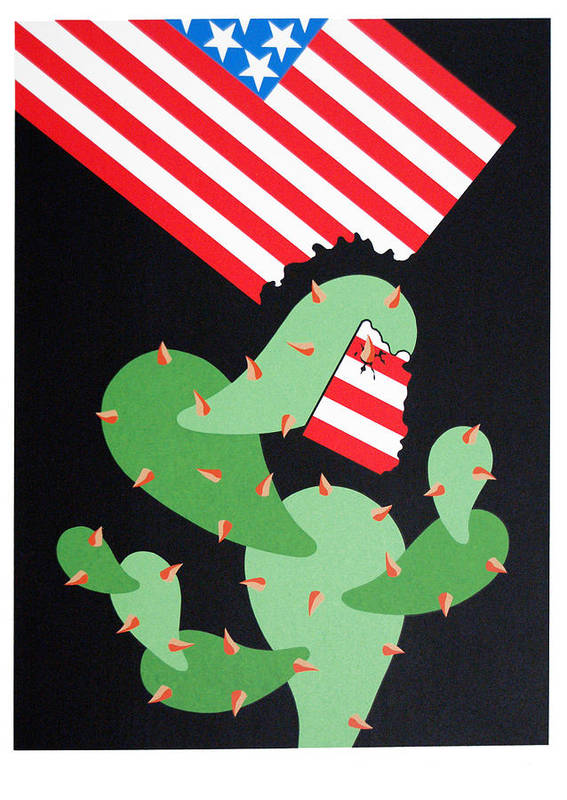 Serie Art Print featuring the print No Pasaran by Julio Eloy Mesa