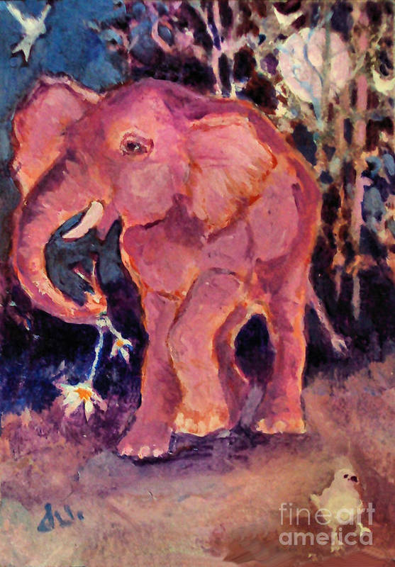 Pink Elephant Paintings (Page #4 of 10) | Fine Art America