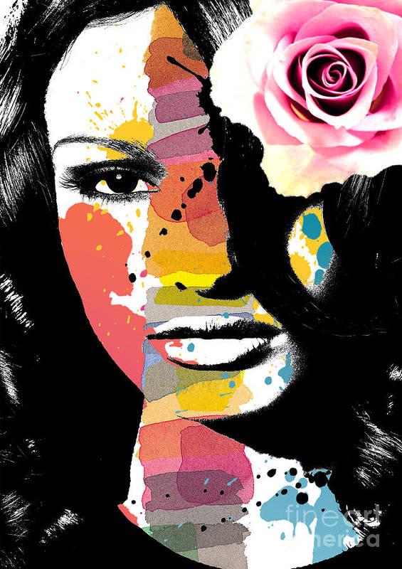 Art Art Print featuring the digital art Rejoicing by Ramneek Narang