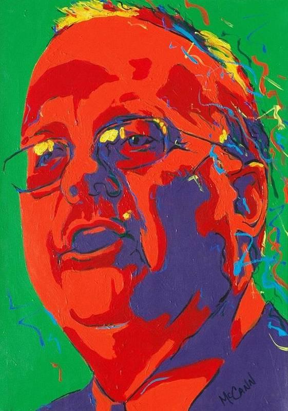 Politics Art Print featuring the painting Rove by Dennis McCann