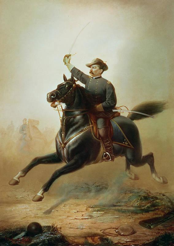 Sheridan Art Print featuring the painting Sheridan's Ride by Thomas Buchanan Read