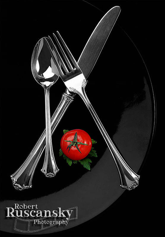 Product Sliverware Art Print featuring the photograph Silverware by Robert Ruscansky