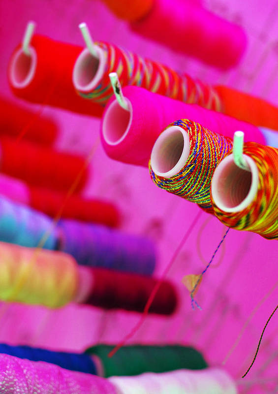 Color Art Print featuring the photograph String Theory by Skip Hunt