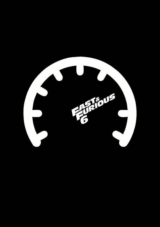 The Fast And The Furious Hollywood Movies Minimalist Quotes Poster