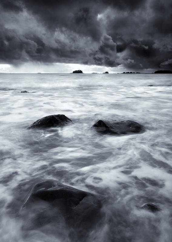 Sitka Art Print featuring the photograph Turbulent Seas by Mike Dawson
