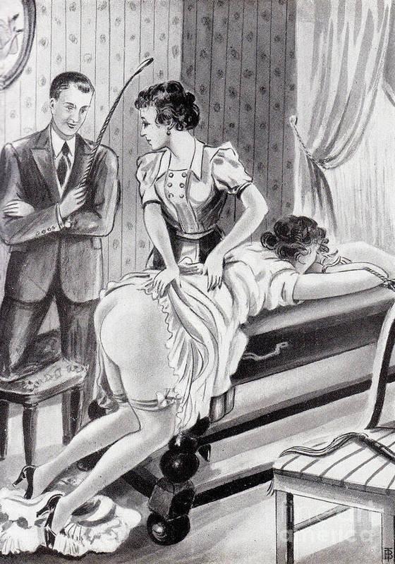 Pictures erotica spanking