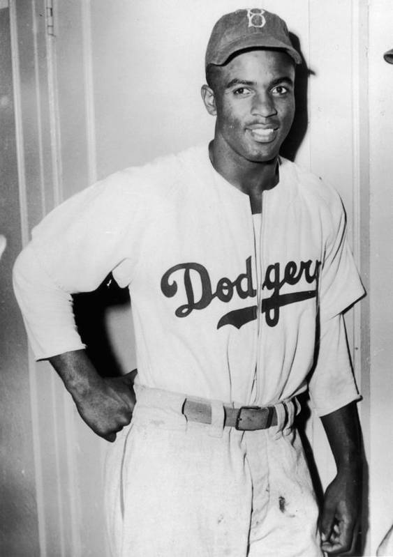 People Art Print featuring the photograph Jackie Robinson 3 by Hulton Archive