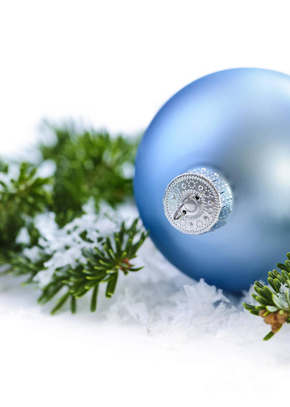 Christmas Art Print featuring the photograph Christmas Ornament by Elena Elisseeva