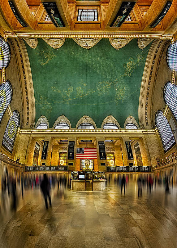 New York City Art Print featuring the photograph A Central View by Susan Candelario
