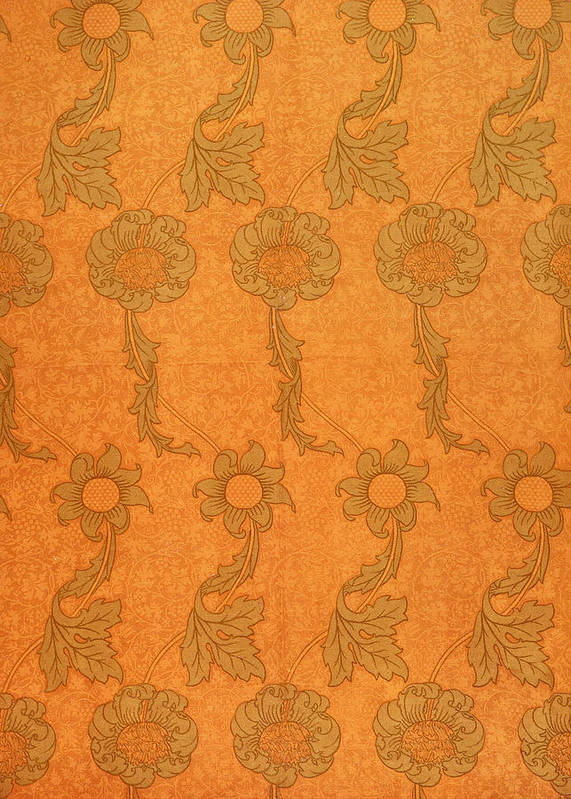 Pattern Art Print featuring the tapestry - textile Arts And Crafts Design by William Morris
