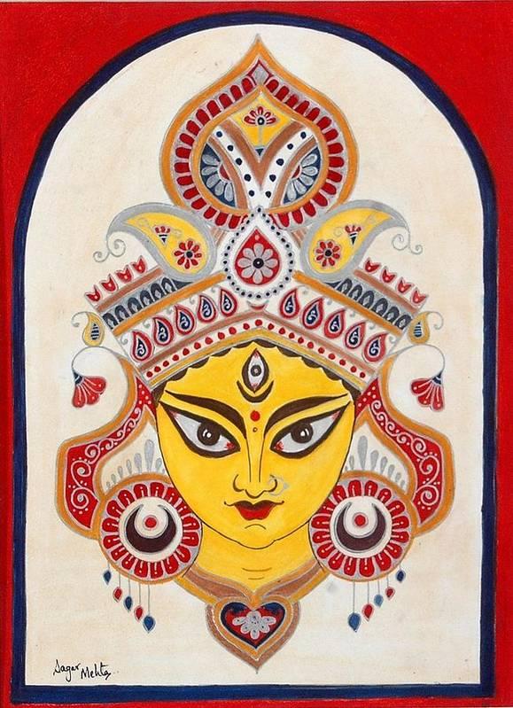 Stunning Kalighat Paintings Fine Art America