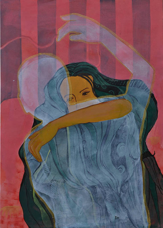 Love Art Print featuring the painting Essence Of Mood by Gayatri Sharma