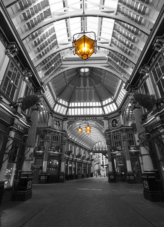Leadenhall Market Art Print featuring the photograph Leadenhall Market London by David French