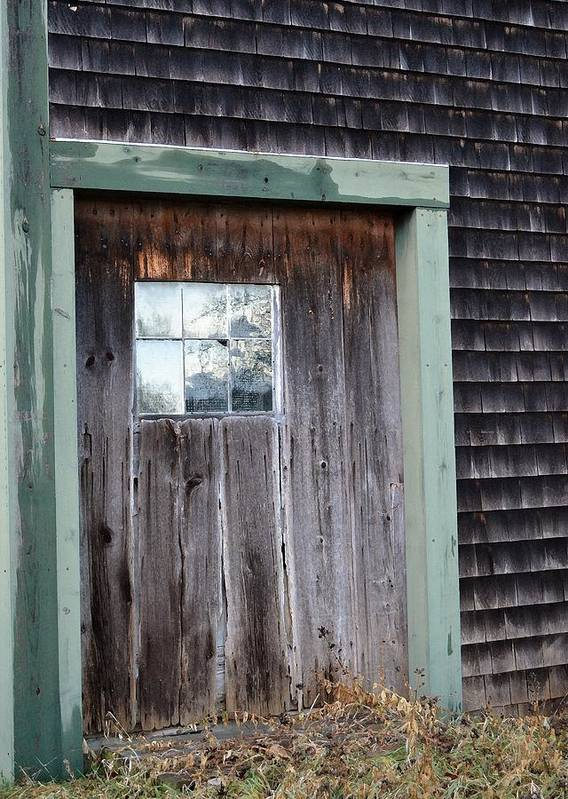 Beauty Print featuring the photograph Madeline's Barn - Light In The Dark by Nina-Rosa Duddy