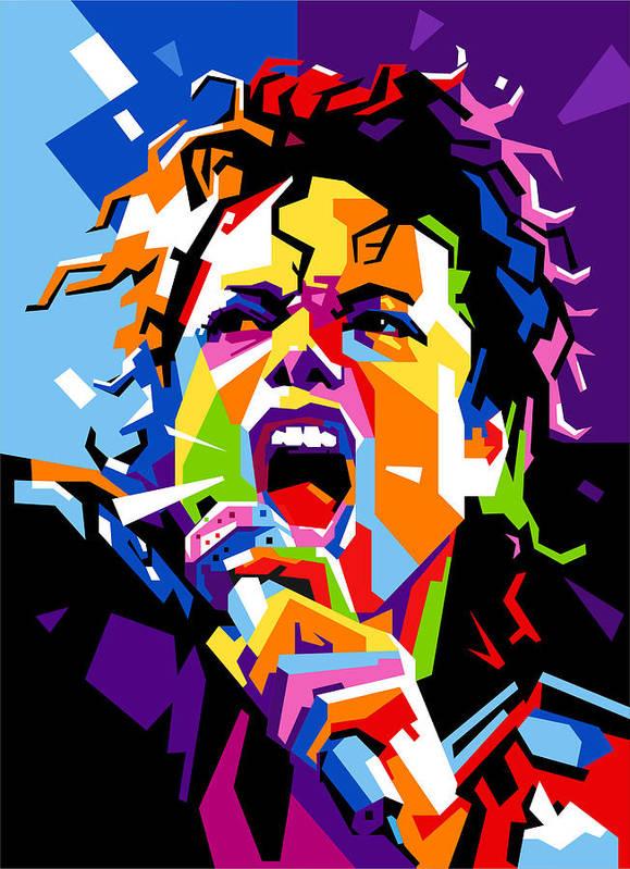 Michael Jackson Art Print By Ahmad Nusyirwan