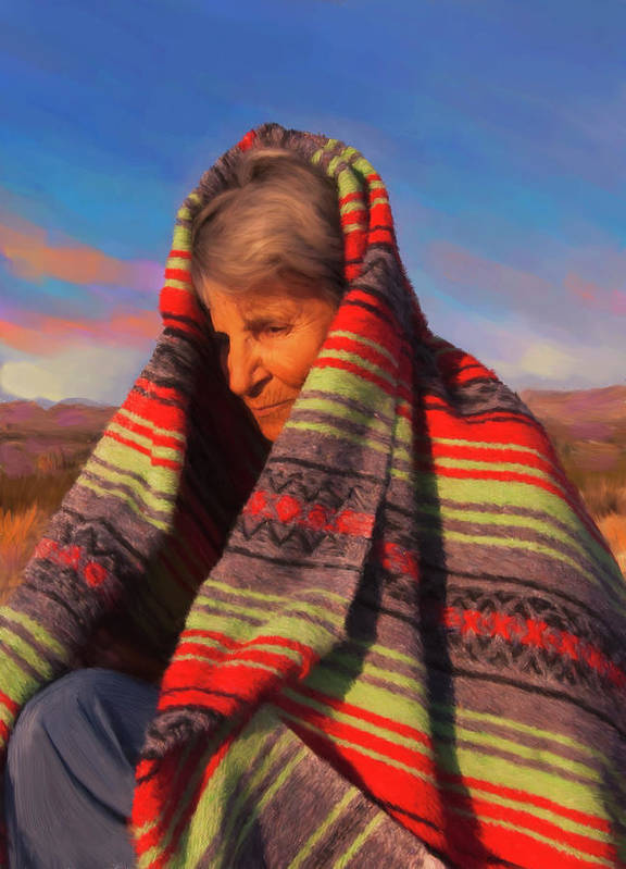 Woman Art Print featuring the digital art Robbie by Sandra Selle Rodriguez