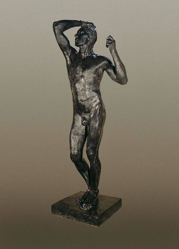 Vertical Art Print featuring the photograph Rodin, Auguste 1840-1917. The Age by Everett