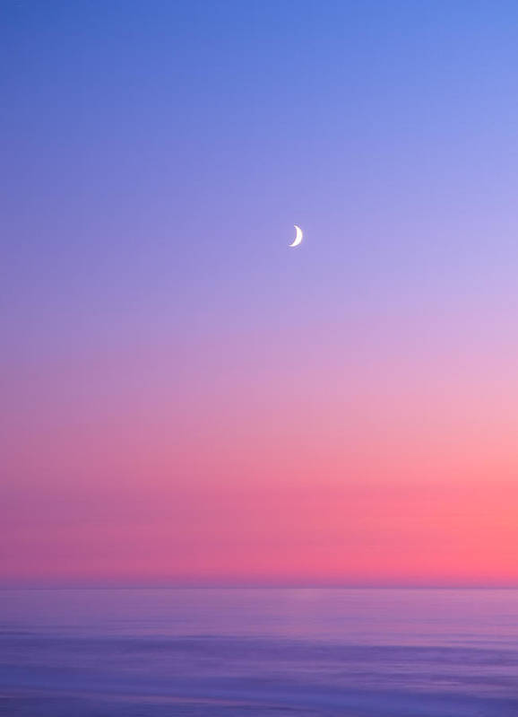 Moon Art Print featuring the photograph Simplistic Wonders Of The Earth by Darren White