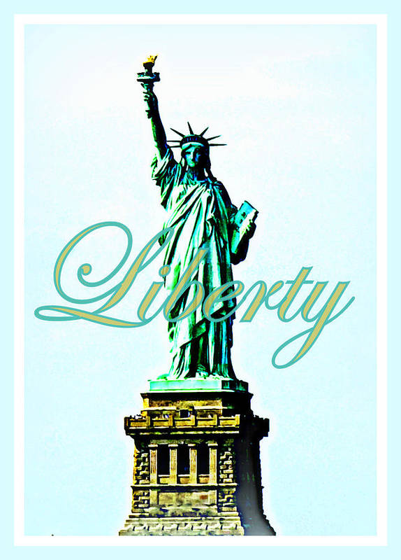 Statue Of Liberty Art Print featuring the photograph Statue Of Liberty by The Creative Minds Art and Photography
