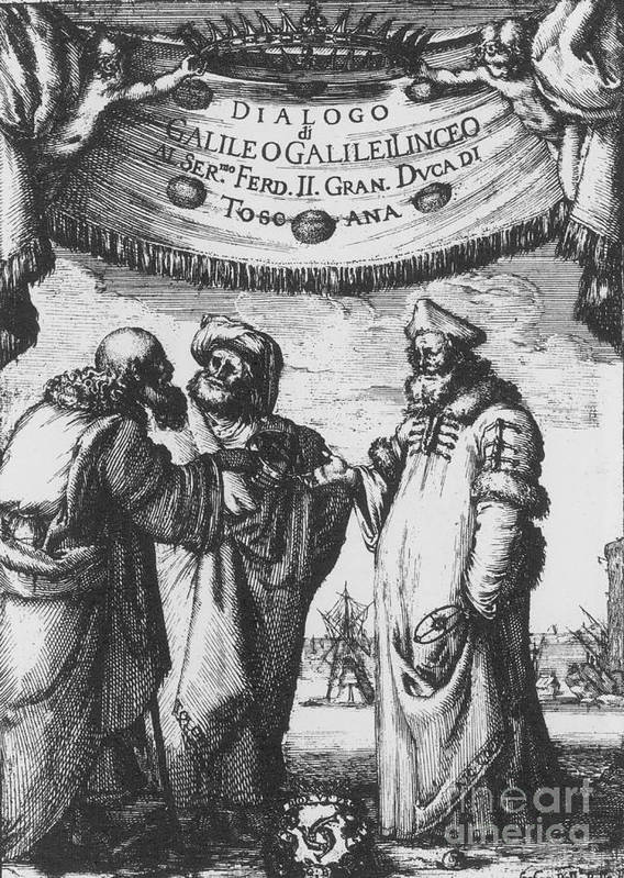 History Print featuring the photograph Aristotle, Ptolemy And Copernicus by Science Source