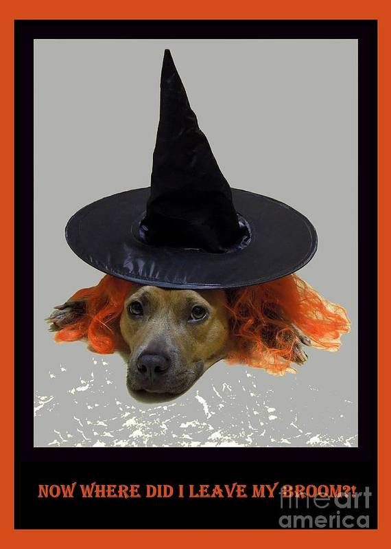 Halloween Art Print featuring the photograph Forgetful by Renee Trenholm