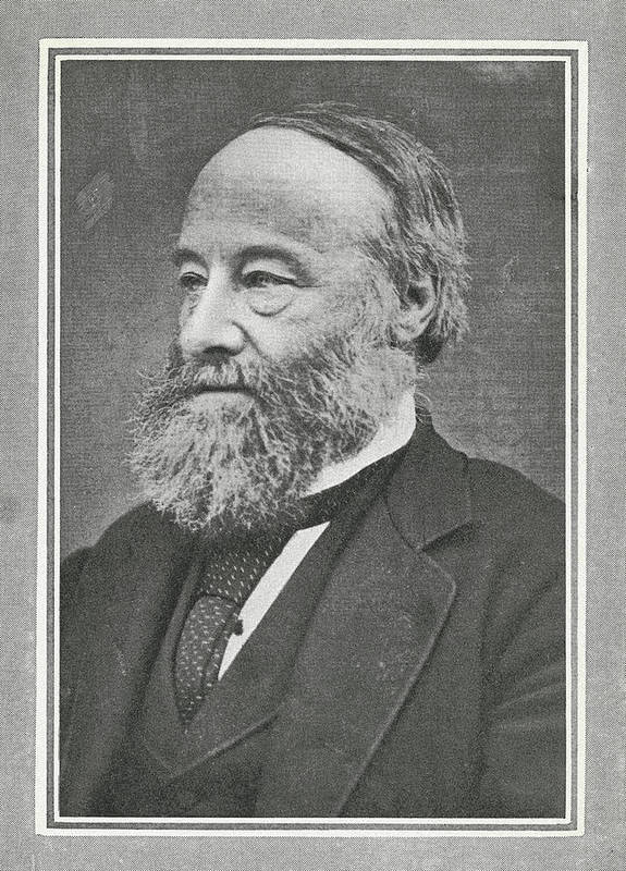 Joule Art Print featuring the photograph James Prescott Joule, British Physicist by Science, Industry & Business Librarynew York Public Library