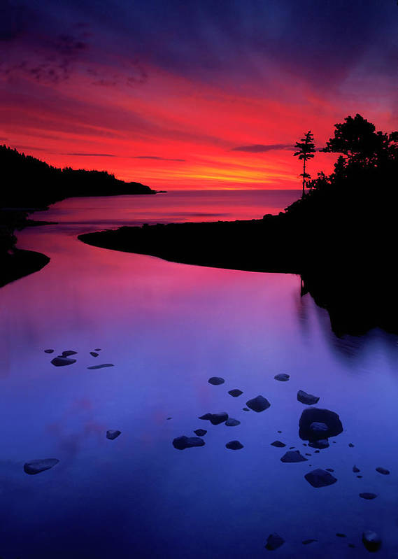 Nova Scotia Art Print featuring the photograph Nova Scotia Sunrise by Dave Mills