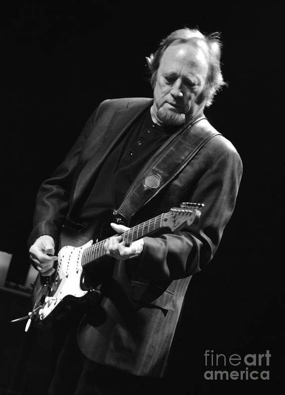 Musician Art Print featuring the photograph Stephen Stills by Jesse Ciazza
