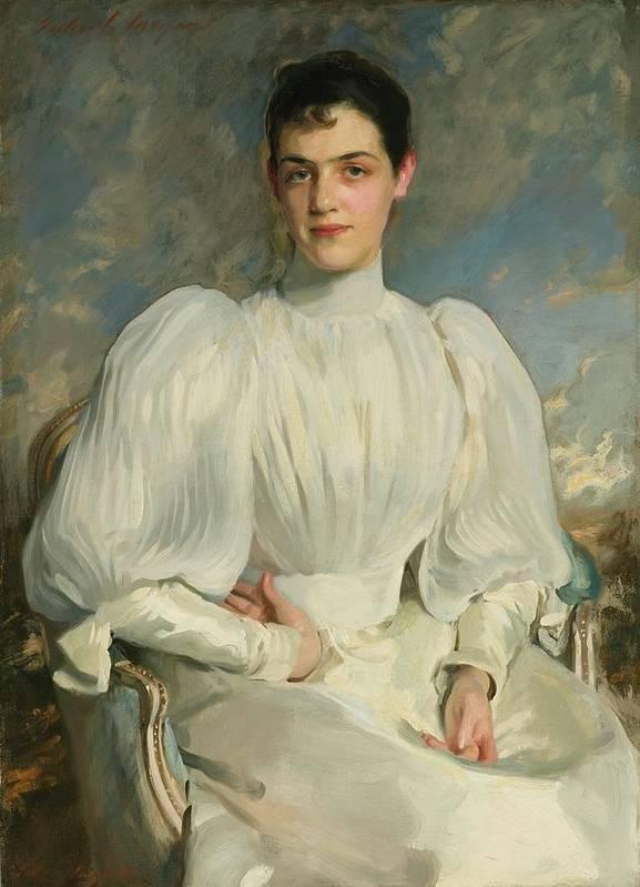 John Singer Sargent 1856 - 1925 Elsie Wagg Art Print featuring the painting Elsie Wagg by John Singer