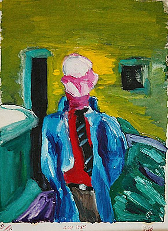 Any Art Print featuring the painting Billy by John Toxey