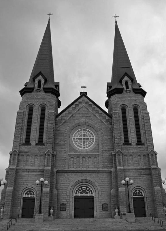 Cahedral Art Print featuring the photograph Church by Lisa Hebert