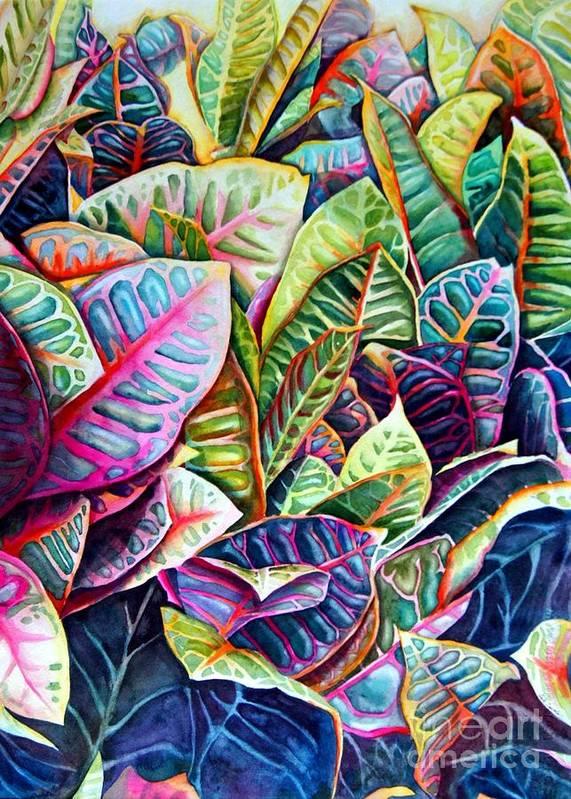 Still Life Art Print featuring the painting Hawaiian Morning by Gail Zavala