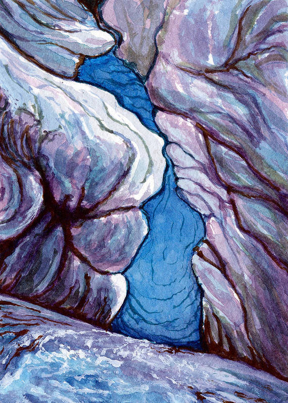Kelso Art Print featuring the painting Icebox by Bonnie Kelso