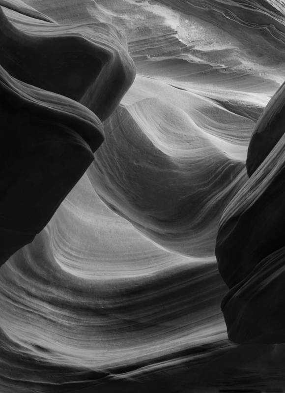 Slot Art Print featuring the photograph Lower Antelope Canyon 2 7902 by Bob Neiman