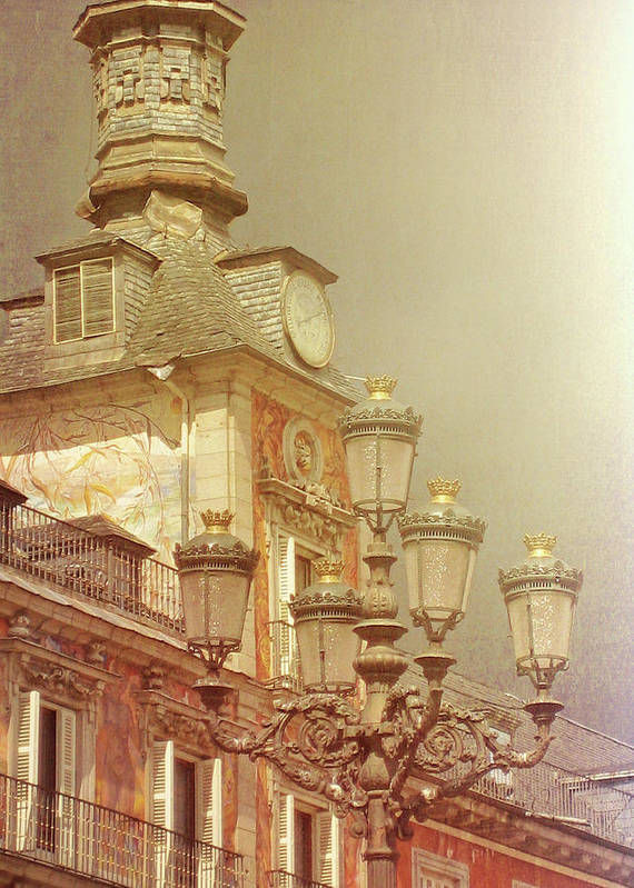 Madrid Art Print featuring the photograph Madrid Thunder by JAMART Photography