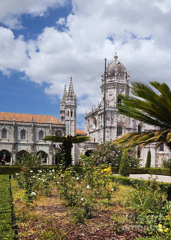 Europe Art Print featuring the photograph Monastery Of The Hieronymites Lisbon 6 by Rudi Prott