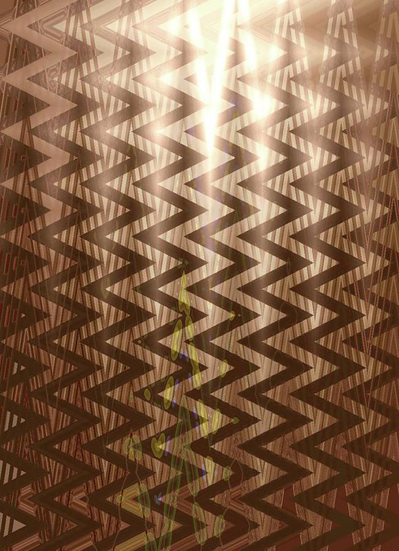 Moveonart! Global Gathering. Jacob Kane -- Omnetra Art Print featuring the digital art Moveonart Electric Transistion by Jacob Kanduch