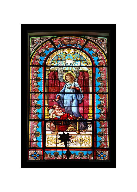 Saint Art Print featuring the photograph Saint by Hans Wolfgang Muller Leg