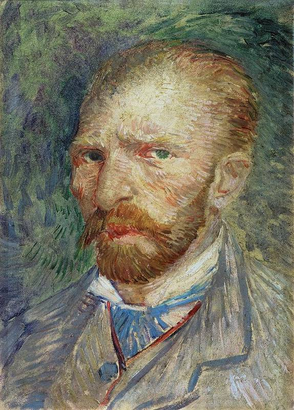 Self Art Print featuring the painting Self-portrait by Vincent Van Gogh