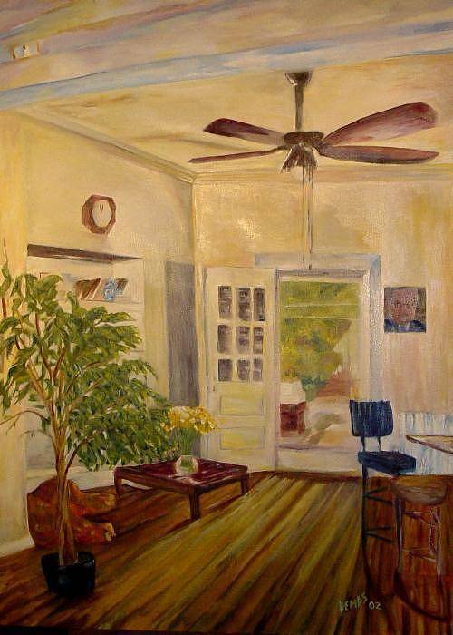 Interior Art Print featuring the painting Sun-day by Impressionist FineArtist Tucker Demps Collection