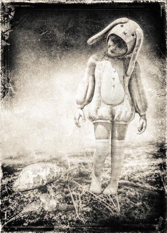 Landscape Art Print featuring the photograph White Rabbit by Bob Orsillo