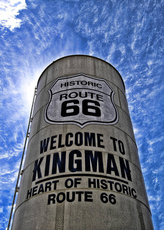 Kingman Art Print featuring the photograph Writing Surface by Marco Moscadelli